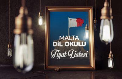 Malta Dil Okulu Fiyat Listesi