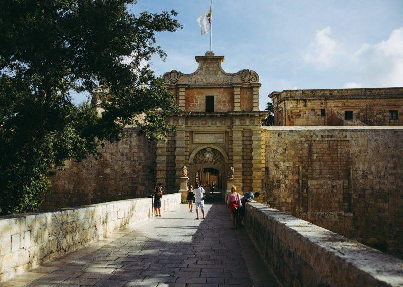 Sessiz Şehre giden Mdina Kapısı